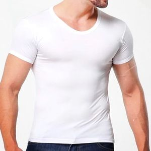 Fuchao Shirts - The Perfect White Muscle T